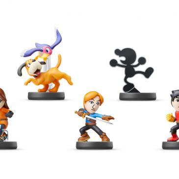 Das sind die neuen Super Smash Brothers amiibo