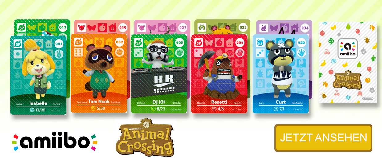 amiibo Karten