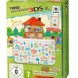 New Nintendo 3DS XL + Happy Home Designer